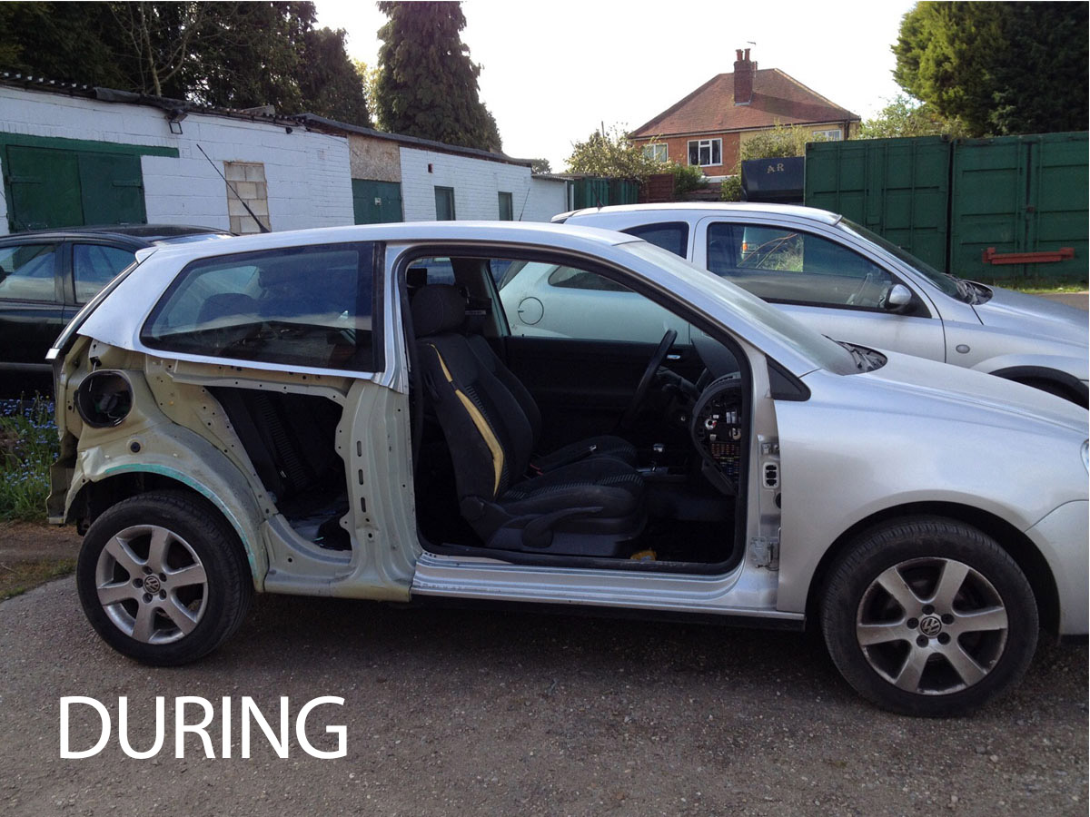 Volkswagen Polo Rear Quarter Replacement